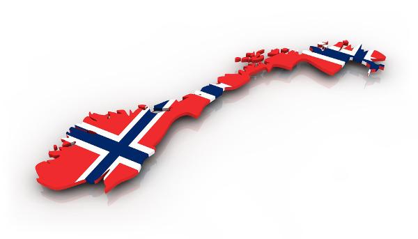 norvege-carte-drapeau